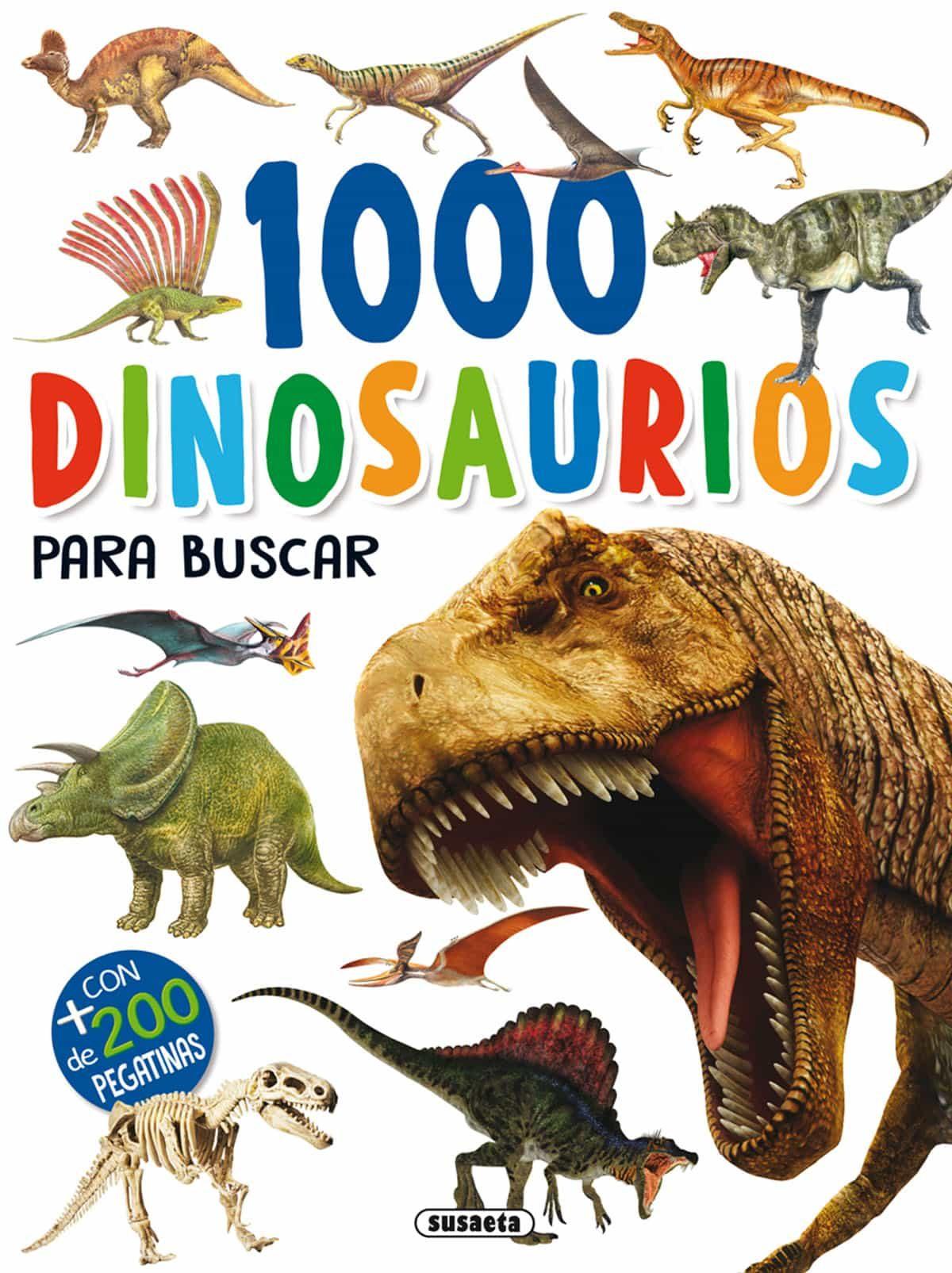 1000 Dinosaurios Para Buscar por Vv.aa.