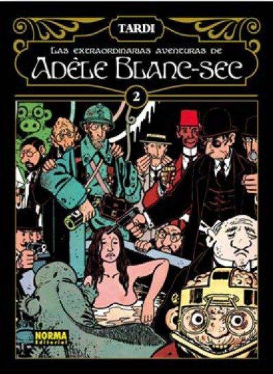 Las Extraodinarias Aventuras De Adele Blanc-sec Vol. 2 por Tardi