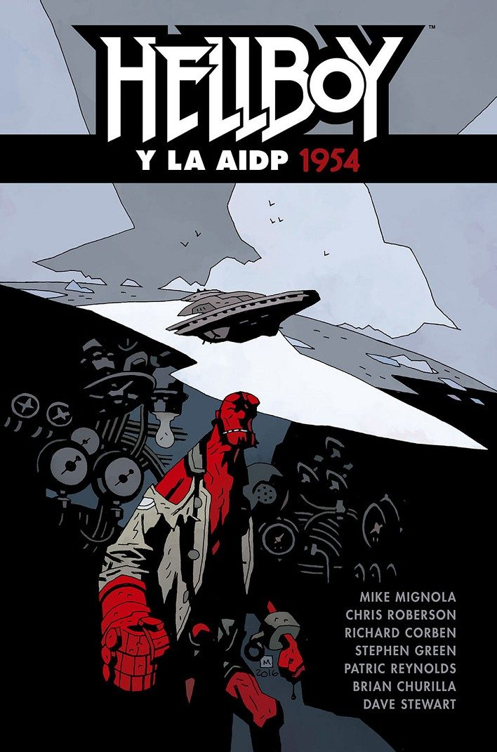 Hellboy 22: Hellboy Y La Aidp 1954 por Vv.aa.
