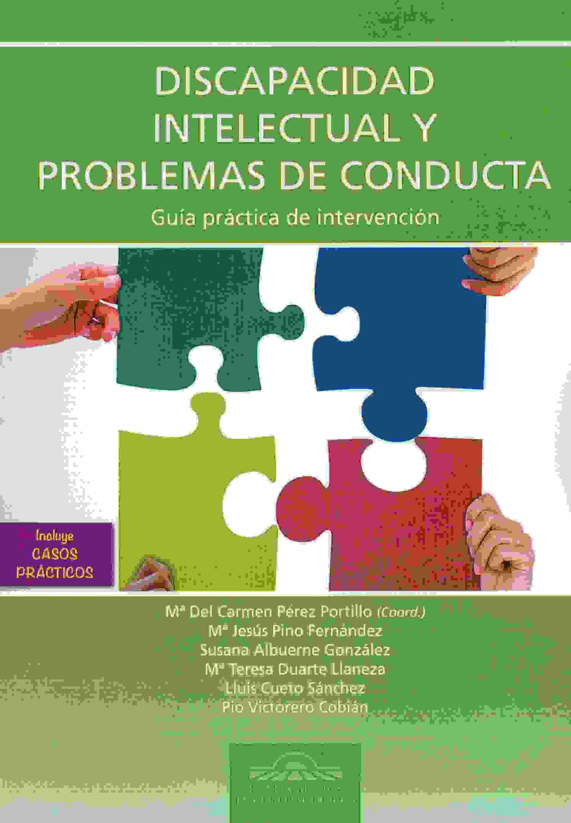 Resultado de imagen de eos Discapacidad intelectual y problemas de conducta. Guía práctica de intervención.