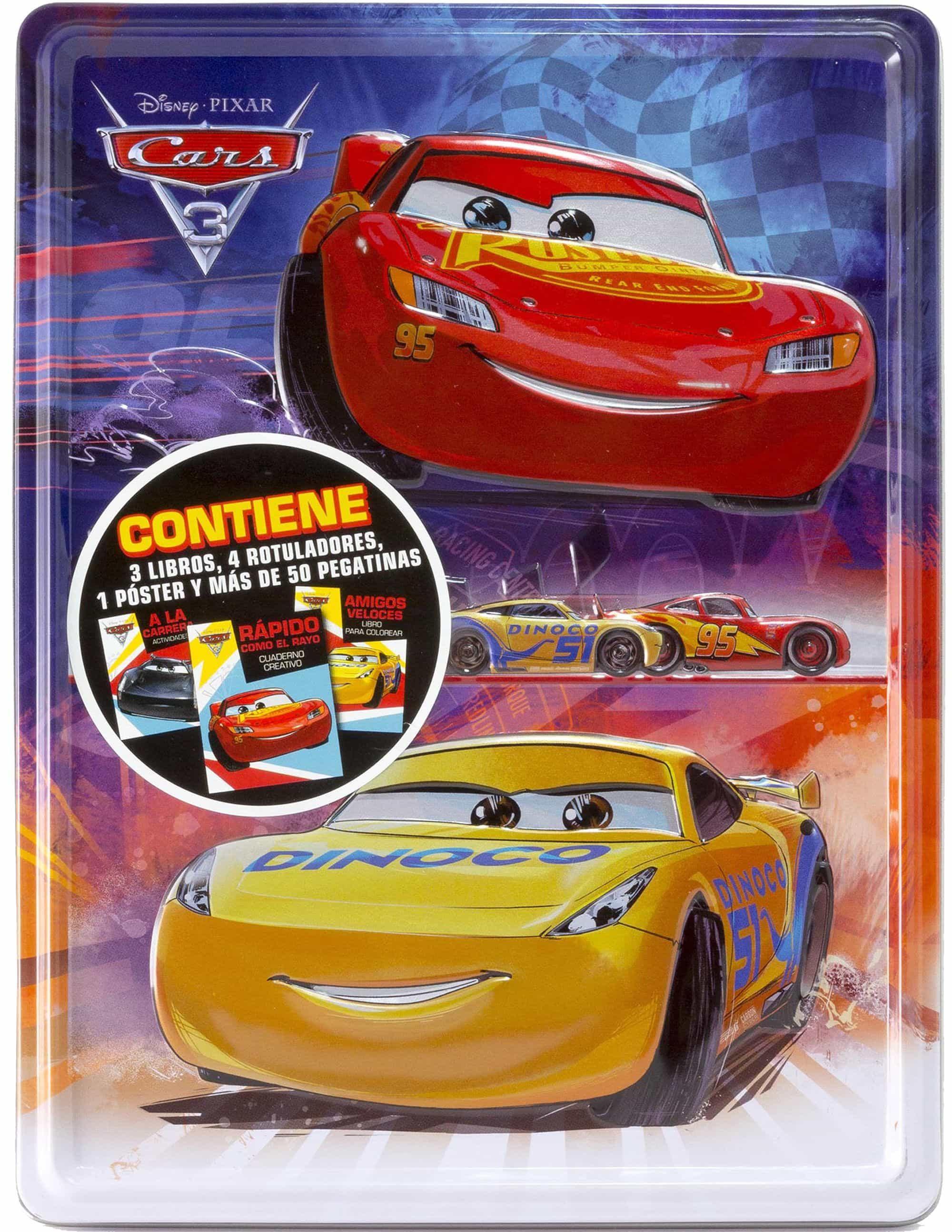 Cars 3: Caja Metalica por Vv.aa.