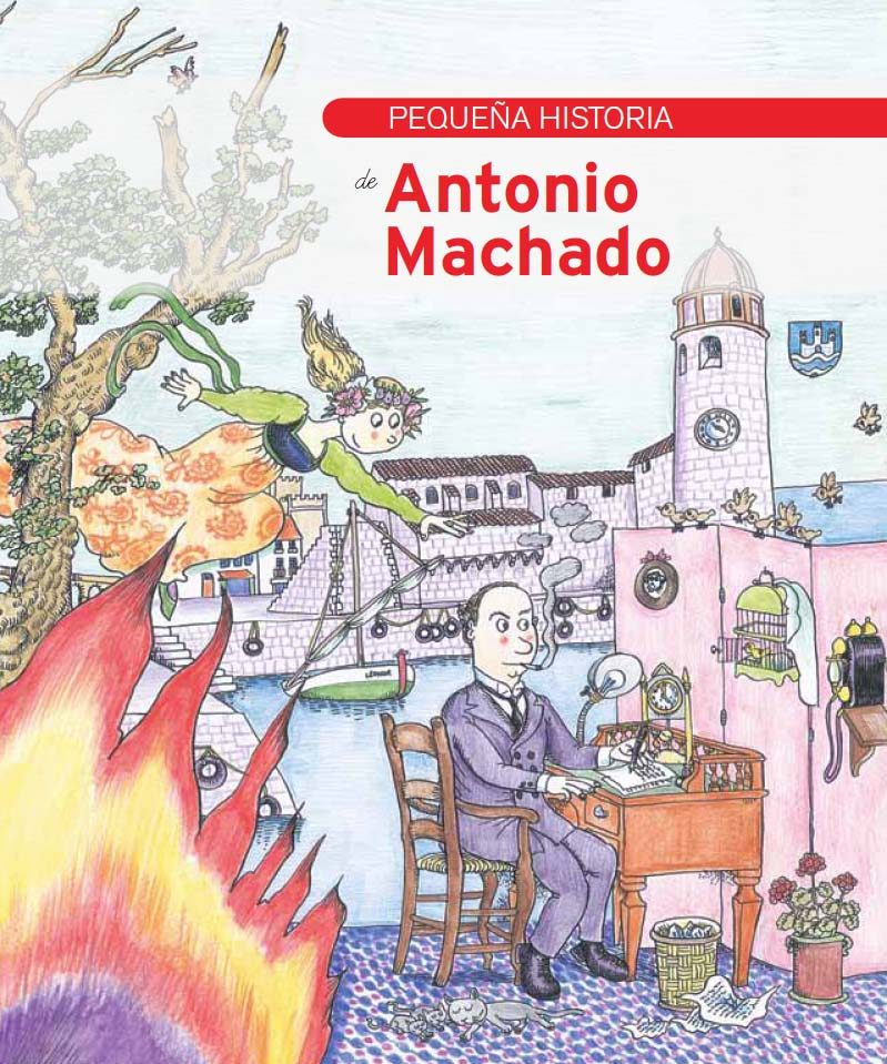 Pequeña Historia De Antonio Machado por Varios Autores