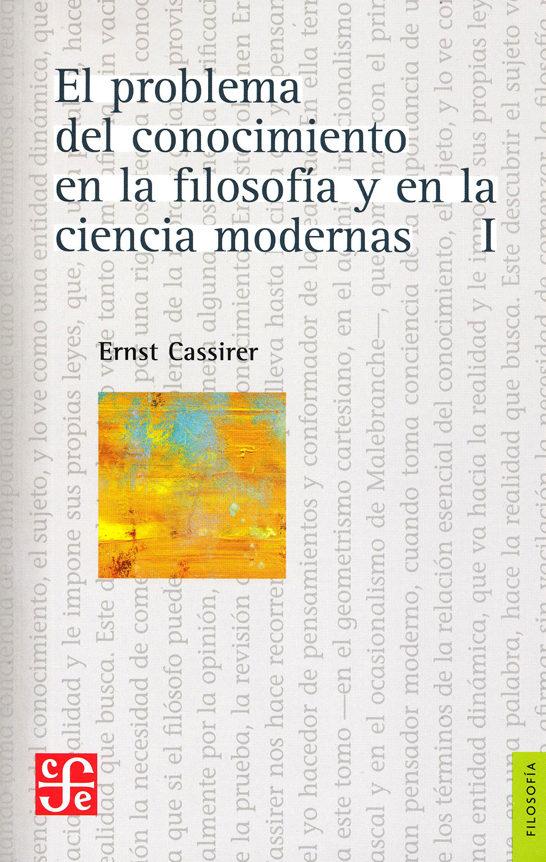 El Problema Del Conocimiento I por Ernst Cassirer epub