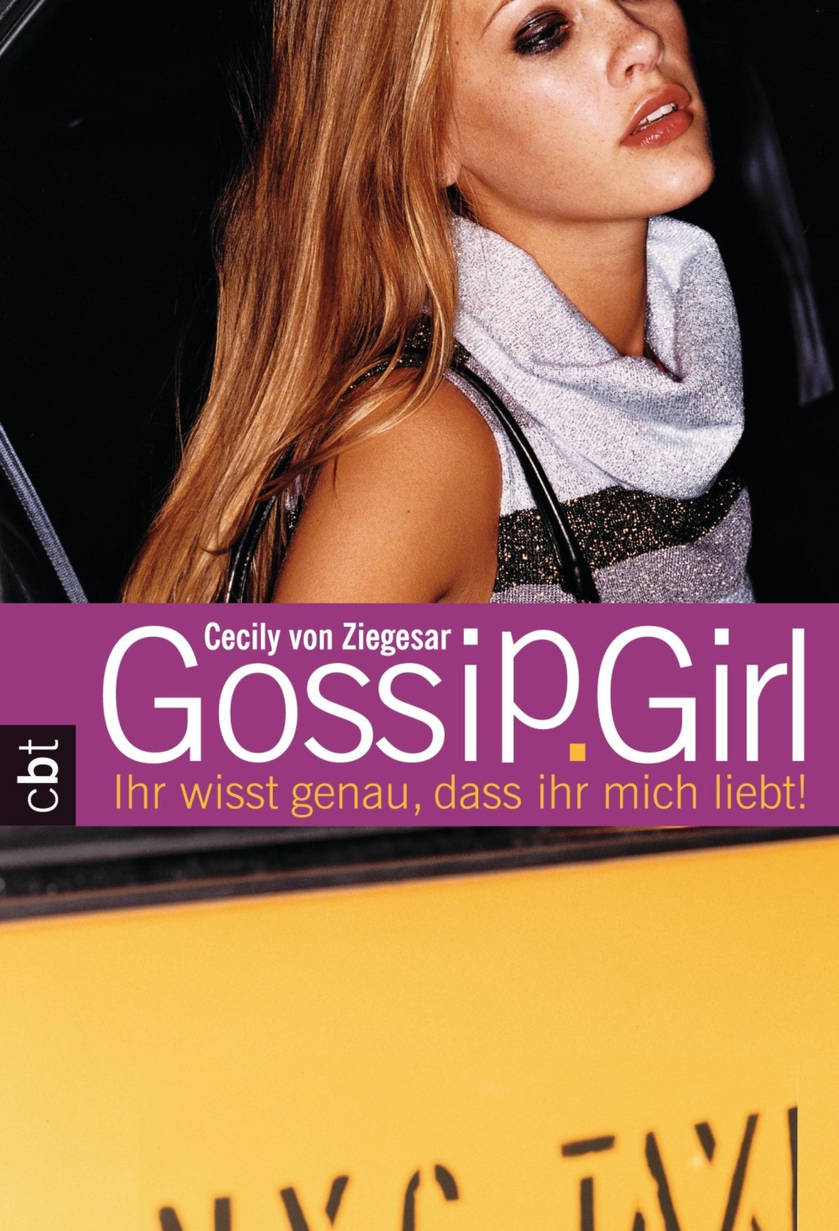 Consider, that Gossip girl book series