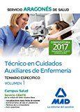 técnico en cuidados auxiliares de enfermería del servicio aragonés de salud. temario específico volumen 1-9788414205280