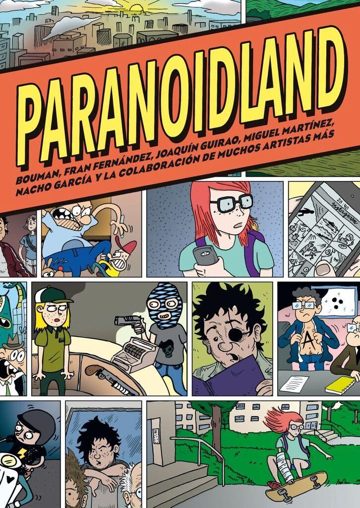 Paranoidland por Vv.aa.