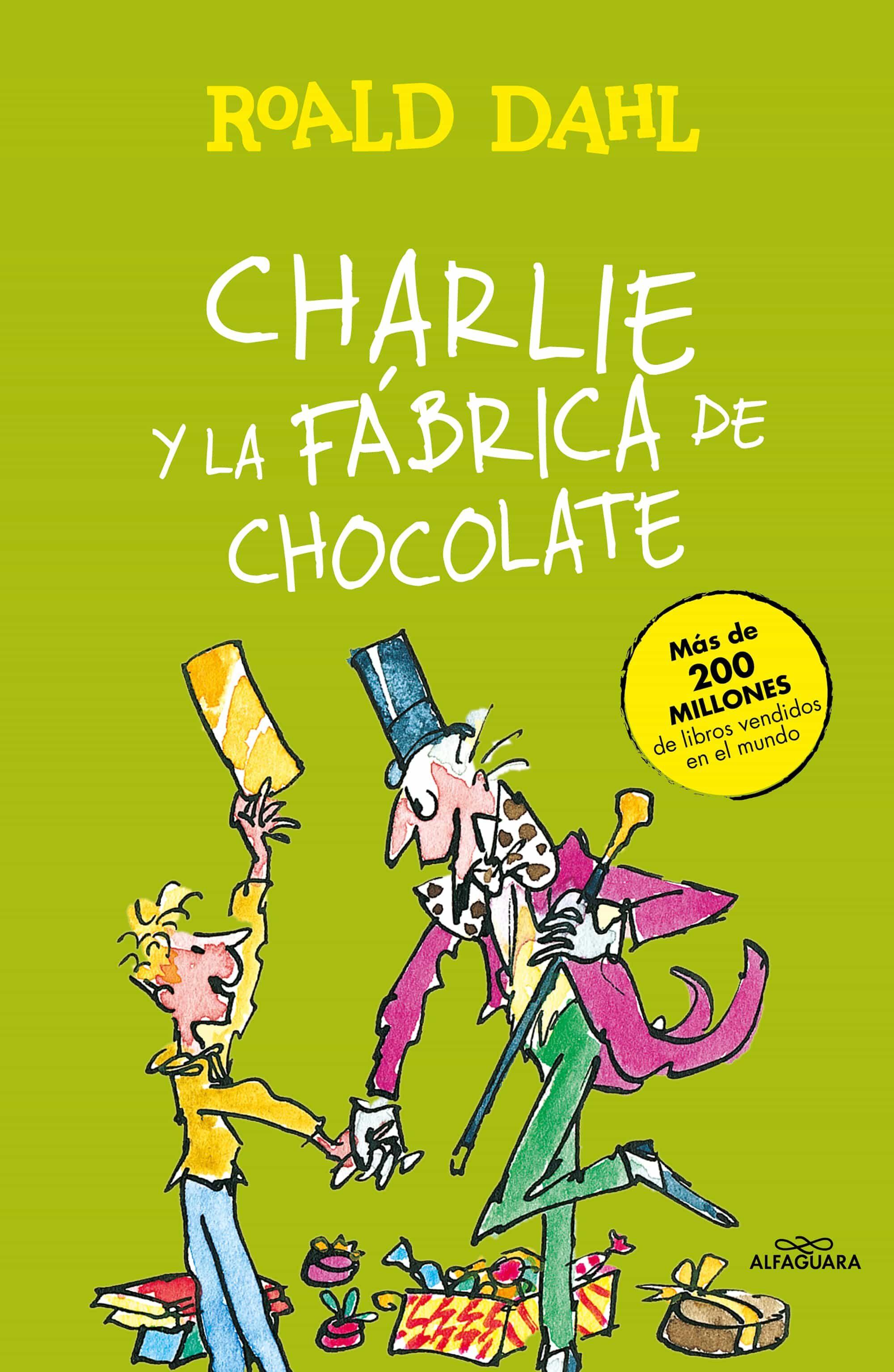 Resultado de imagen de Charlie y la fábrica de chocolate, Roald Dahl Alfaguara