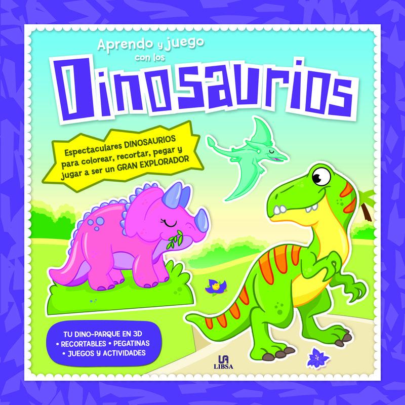 Aprendo Y Juego Con Los Dinosaurios Vvaa Comprar Libro