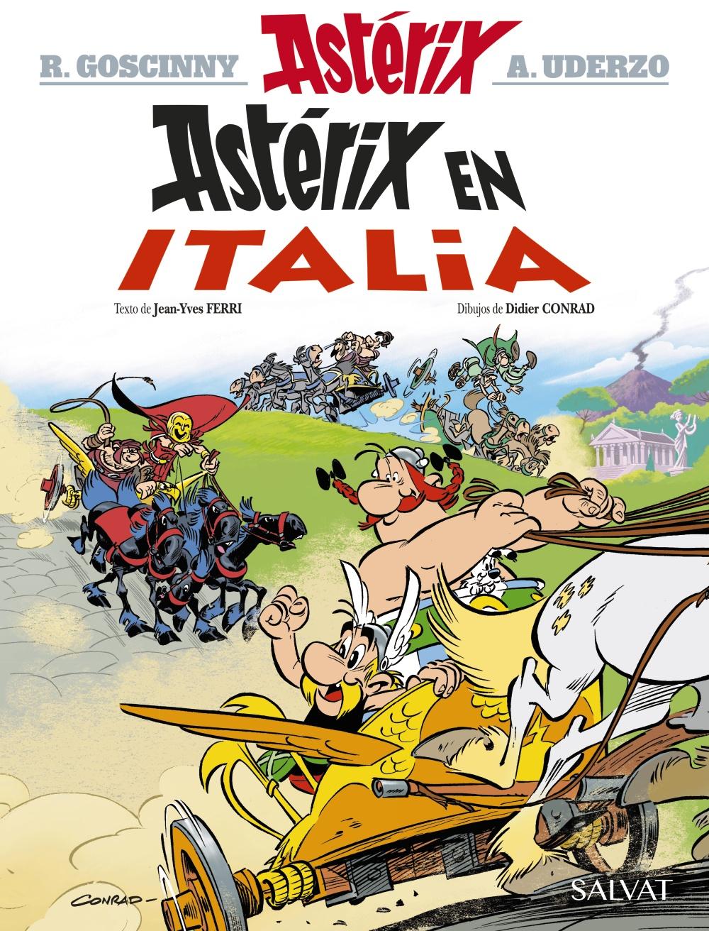 Resultado de imagen para asterix en Italia