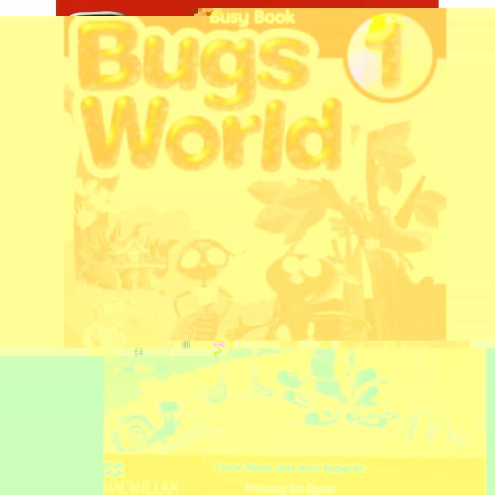 bugs world 1 busy book-9780230718890