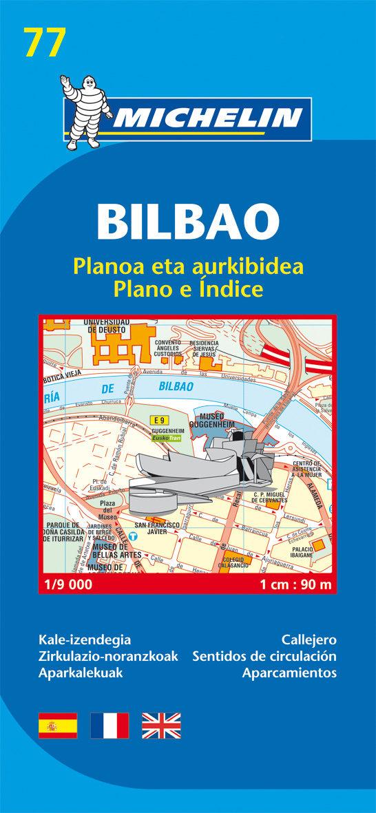 Plano Michelin Bilbao (ref.19077) por Vv.aa.
