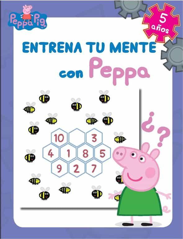 Entrena Tu Mente Con Peppa. 5 Años (peppa Pig. Cuaderno De Activi Dades) por Vv.aa.