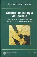 manual de ecologia del paisaje-ignacio español echaniz-9788438003190
