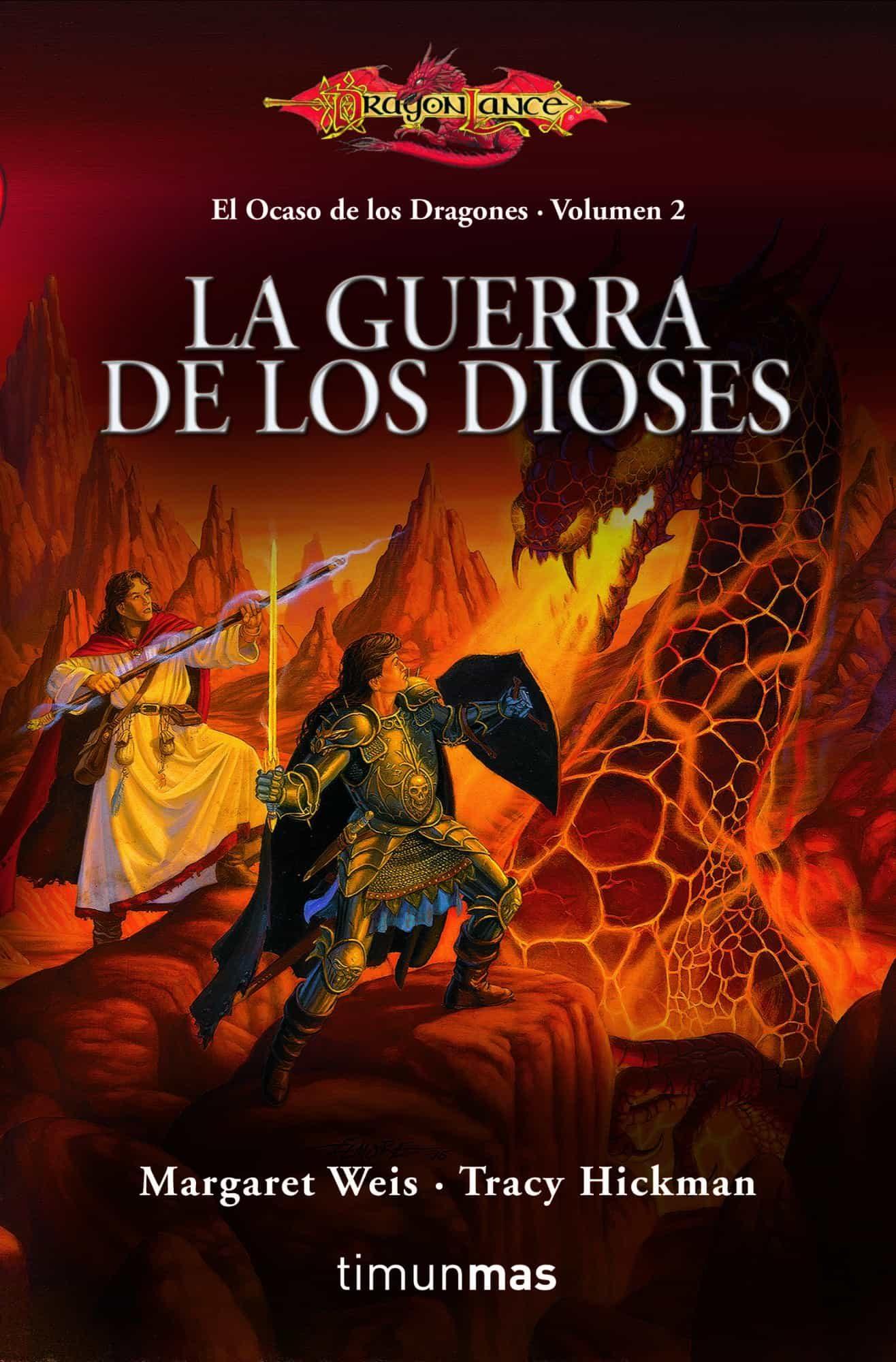 La guerra de los dioses dragonlance el ocaso de los dragones margaret
