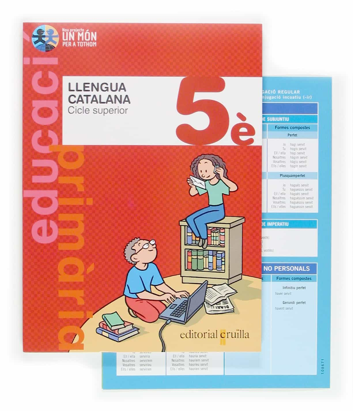 Llengua Catalana 5 Primaria C.superior 1 Nou Projecte Mon Per A T Othom por Vv.aa. Gratis