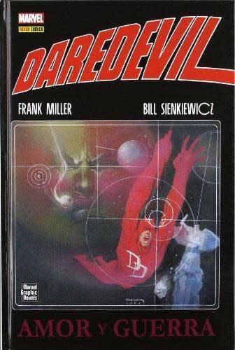 daredevil: amor y guerra-frank miller-9788490240090