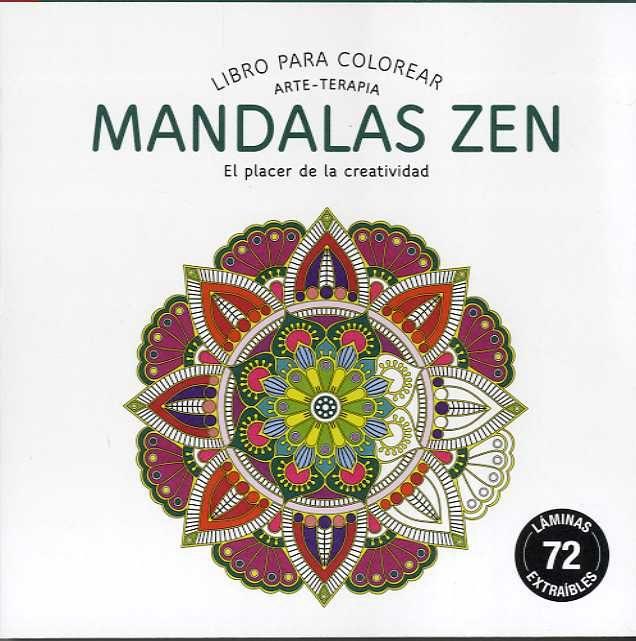 MANDALAS ZEN (COMPACTOS): LIBRO PARA COLOREAR ARTE-TERAPIA | VV.AA ...