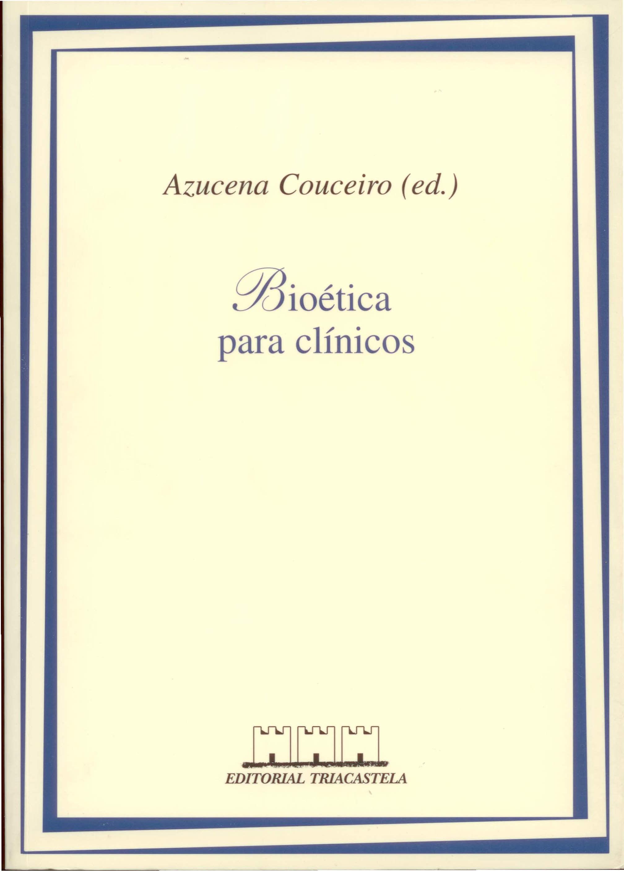 bioetica para clinicos-9788492141890