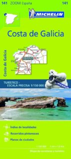 mapa zoom costa de galicia 2017 9782067218000