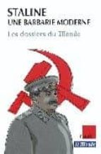 Staline: une barbarie moderne Descarga gratuita de libros j2ee pdf