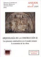 Ebook descarga gratuita archivo jar Arqueologia de la construccion. tomo iii