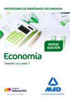 profesores de enseñanza secundaria economia: temario (vol. i) mª victoria martinez delgado 9788414208700
