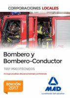 bombero y bombero conductor. test psicotécnicos 9788414210000