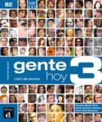 gente hoy 3 libro del alumno+cd-9788415640400