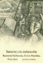 saturno y la melancolia-9788420671000