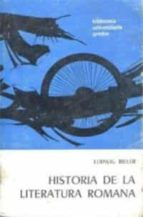 historia de la literatura romana-ludwig bieler-9788424928100