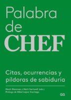 palabra de chef-nach waxman-matt starwell-9788425230400