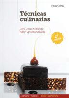 tecnicas culinarias (2ª ed.) elena crespo gonzalez nabor 9788428337700