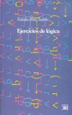 ejercicios de logica eulalia perez sedeño 9788432307300