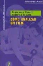 como analizar un film francesco casetti federico di chio 9788449320200