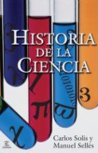 historia de la ciencia-carlos solis-manuel selles-9788467032000