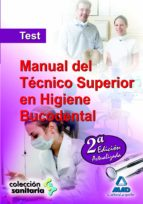 manual del tecnico superior en higiene bucodental: test 9788467621600