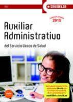 auxiliar administrativo de osakidetza-servicio vasco de salud. test-9788467650600