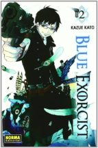 blue exorcist nº 2 kazue kato 9788467906400