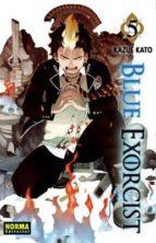 blue exorcist nº 5 kazue kato 9788467908800