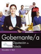 gobernante/a. diputación de toledo. temario y test-9788468186900