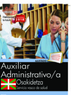 oposiciones osakidetza. servicio vasco de salud auxiliar administrativo-9788468190600