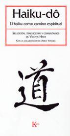 haiku-do: el haiku como camino espiritual-vicente haya-9788472456600