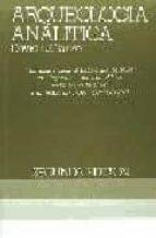 arqueologia analitica david leonard clarke 9788472900400