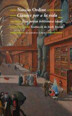 classics per a la vida-nuccio ordine-9788477275800