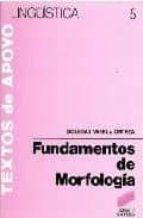 fundamentos de morfologia-soledad varela ortega-9788477380900
