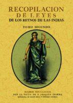 Recopilación de leyes de los reynos de las indias 978-8490013700 EPUB PDF por Vv.aa.