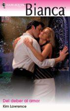 del deber al amor (ebook)-kim lawrence-9788490105900