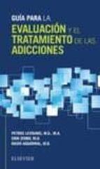 guía para la evaluación y el tratamiento de las adicciones p. levounis 9788491131700