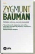 multiples culturas: una sola humanidad-zygmunt bauman-9788496859500