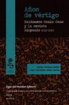 años de vértigo (ebook)-baldomero; gómez garcía, juan guillermo; rubiano muñoz; rafael sanín cano-9789586653800